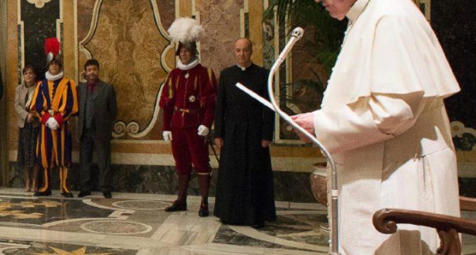 """Francisco recuerda que la unidad de los cristianos es """"una exigencia esencial de nuestra fe"""""""