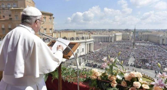 Mensaje de Papa Francisco Urbi et Orbi