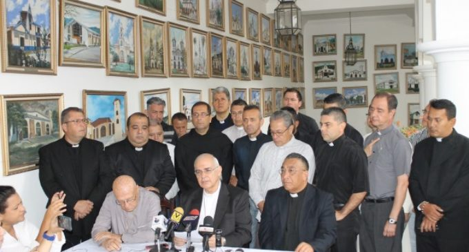Venezuela: El Obispo Moronta escribe una carta abierta a Nicolás Maduro