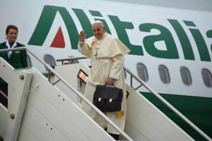 Viaje a Méjico. Salida de Roma