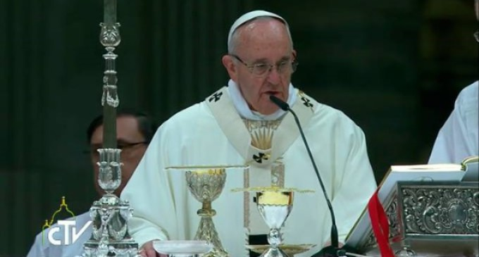 Francisco clausura el Año de la Vida Consagrada