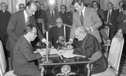 Las asignaturas pendientes de los acuerdos Iglesia-Estado