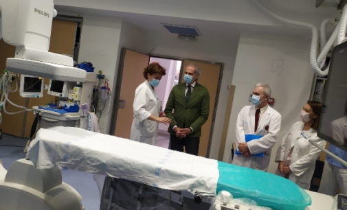 La Comunidad invierte 3 millones de euros en la renovación del Área de Intervencionismo y la Unidad del Dolor del Hospital de La Princesa