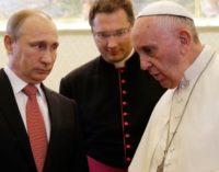 El próximo 4 de julio, Vladimir Putin será recibido por el Papa Francisco por tercera vez