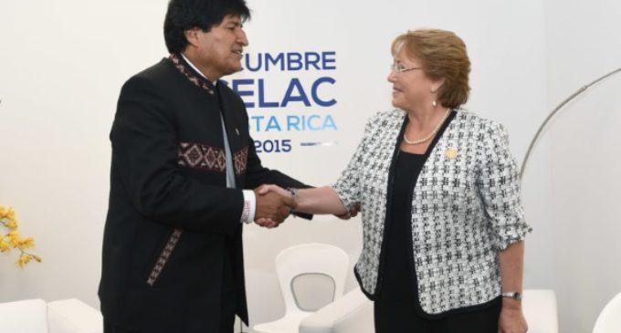 El Papa recibirá a Evo Morales y a Michelle Bachelet