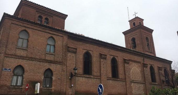 La iglesia parroquial de San Matías, en el distrito de Hortaleza, declarada BIP por la Comunidad de Madrid