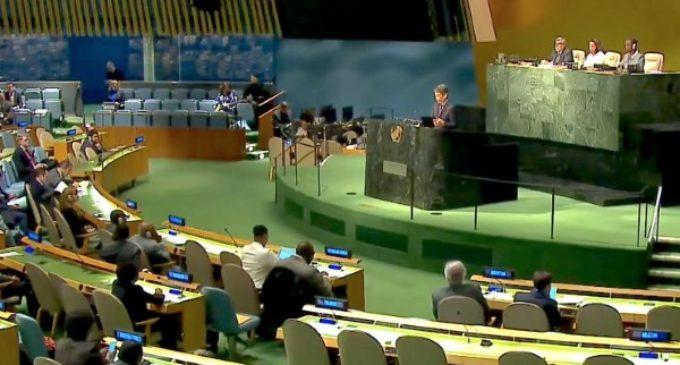 Francisco a la ONU: el desarme nuclear es un imperativo moral y humanitario