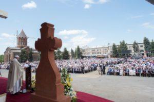 armenia. día 2. misa de Gyumri 1