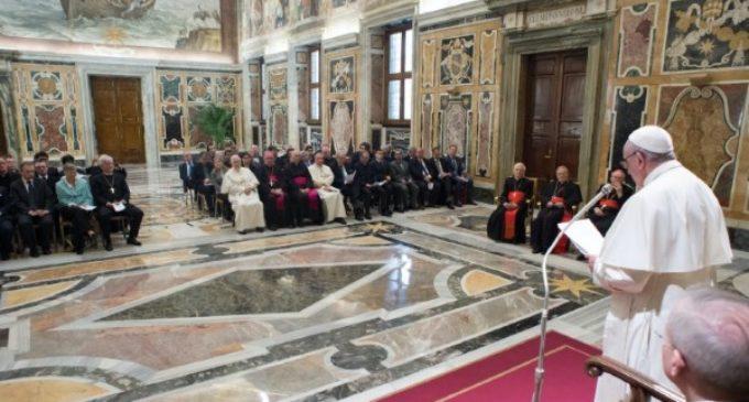"""Audiencia a los historiadores del Congreso de Estudios: """"Lutero 500 años después"""""""