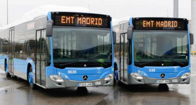 La Comunidad de Madrid no permitirá el pago en efectivo en la red de autobuses
