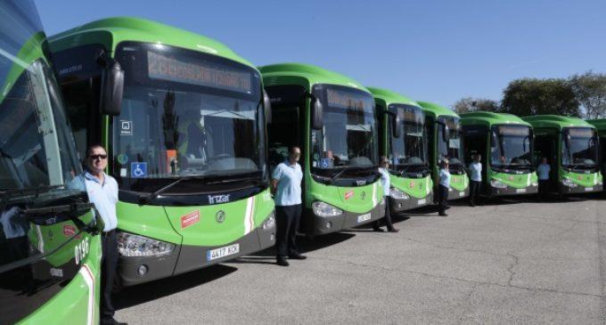 La Comunidad de Madrid ha renovado 384 autobuses interurbanos en la presente legislatura