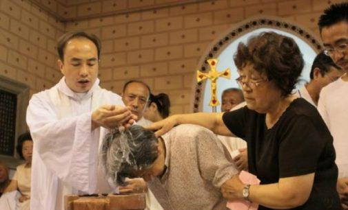 50.000 bautizos en China en 2017
