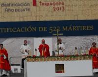 En el Año de la Fe, 522 mártires españoles fueron Beatificados en Tarragona