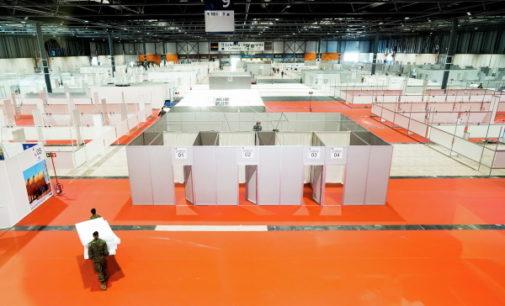 La Comunidad de Madrid podrá atender esta semana a 1.300 pacientes de coronavirus en el hospital de IFEMA