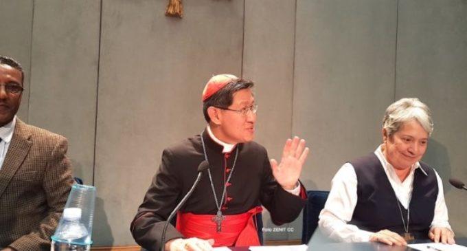 """El cardenal Tagle, presidente de Cáritas Internacional, explica la campaña """"Compartiendo el viaje"""""""
