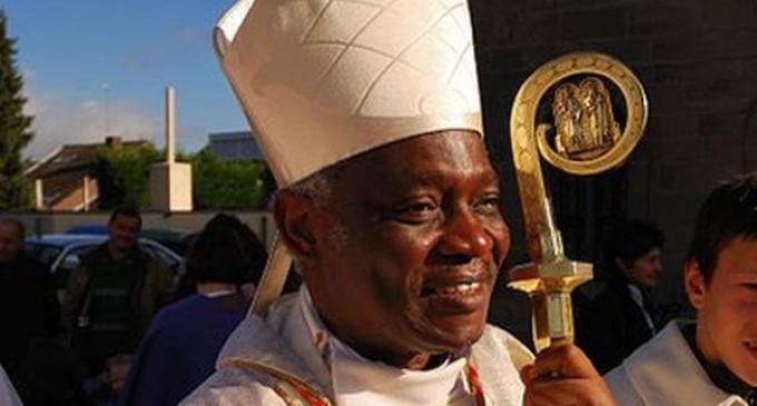 El cardenal Turkson lleva a Sierra Leona y Liberia,  afectados por el ébola, la solidaridad de la Iglesia.