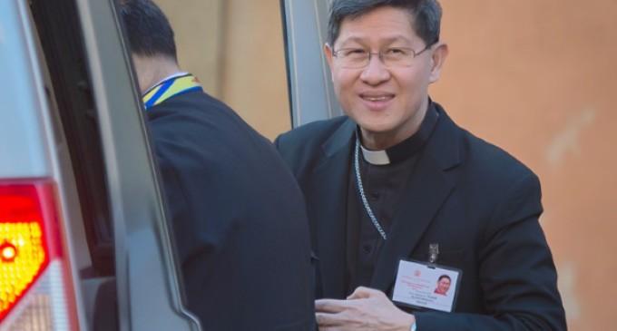 Cardenal Tagle: Es necesario un sistema humanitario que haga frente a los retos cada vez mayores
