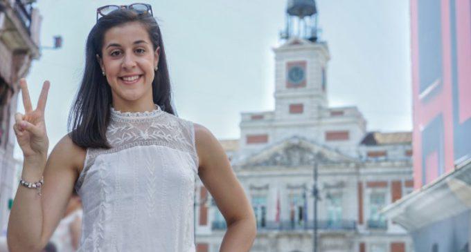 La embajadora de Turismo de la Comunidad de Madrid, Carolina Marín, oro en bádminton en los Juegos de Río