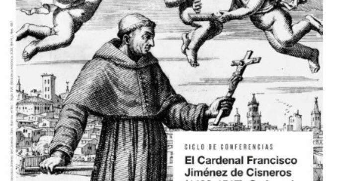 La Comunidad de Madrid organiza un ciclo de conferencias sobre el cardenal Cisneros