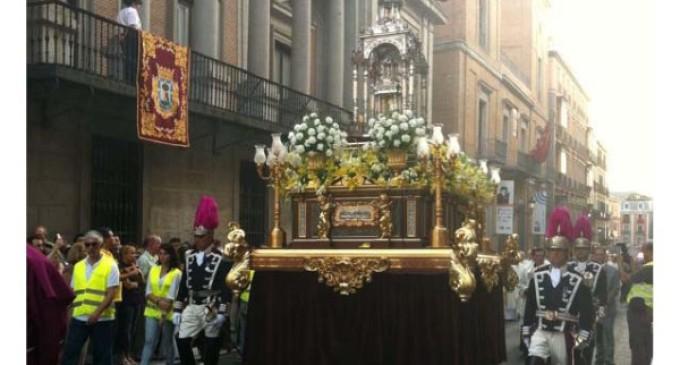 El Santísimo recorrerá las calles de Madrid el próximo domingo 29 de mayo