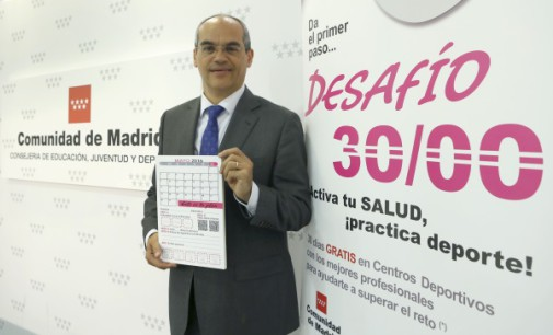 En el mes de mayo, gimnasio gratis a 3.000 jóvenes madrileñas para ayudar a combatir el sedentarismo