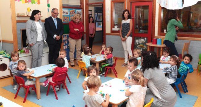 La Comunidad fomenta la educación en la etapa de 0-3 años con una nueva bajada de tasas e incremento de las becas