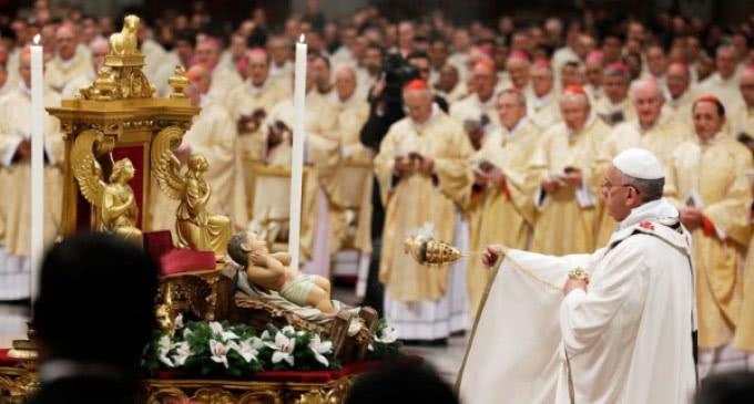 Misa del Gallo en el Vaticano: »¿Permito a Dios que me quiera?»