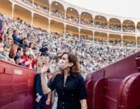 Corrida de la Hispanidad de la Feria de Otoño en la plaza de Las Ventas