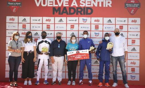 La Comunidad, en la entrega de los galardones de la EDP Rock'n' Roll Madrid Maratón