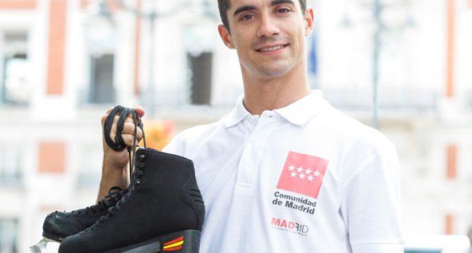 El campeón mundial de patinaje Javier Fernández llevará la imagen de la región a Japón