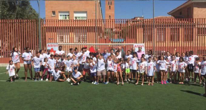 Jornada de convivencia con 250 jóvenes residentes en viviendas de la Agencia de Vivienda Social de la Comunidad de Madrid