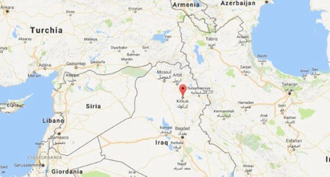 Un niño de 12 años con una cintura explosiva fue desarmado por la policía de los peshmerga en Kurdistán