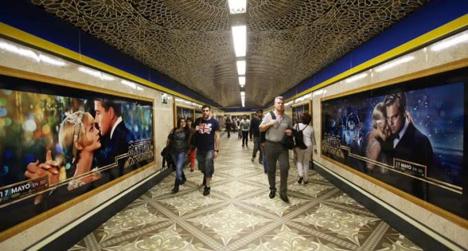 Metro ingresó en actividades comerciales en 2013  un 10% más que en 2012