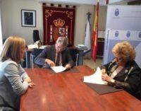 El Ayuntamiento firma un convenio con la Asociación Club Reina Sofía de Pensionistas