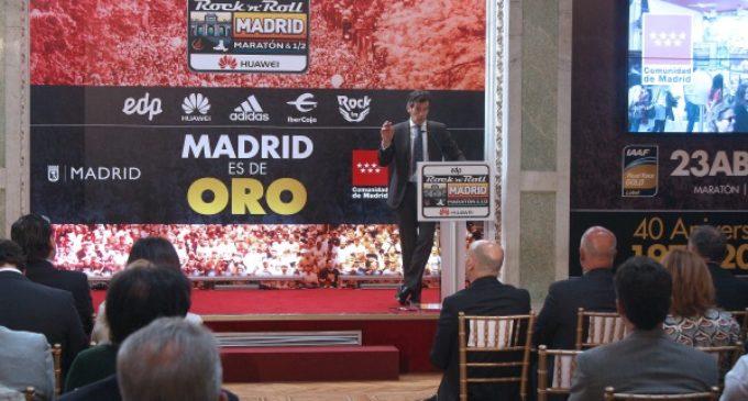 La Comunidad de Madrid utiliza el maratón como reclamo turístico internacional
