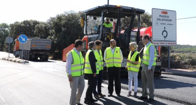 La Comunidad invierte 2,8 millones de euros en la mejora del firme de la carretera M-505
