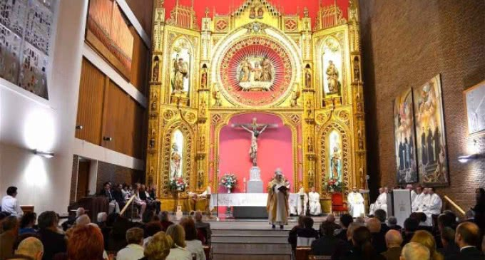 Monseñor Osoro, en el Hospital San Rafael: «San Juan de Dios vino a seguir las huellas de Jesús y a dar la vida por todos»