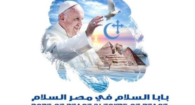 """""""El Papa de paz en Egipto de paz"""": publican el logo del viaje de Francisco"""