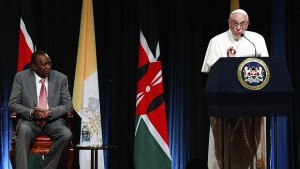 primer discurso del papa en Kenia 2