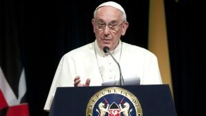 primer discurso papa en Kenia 1