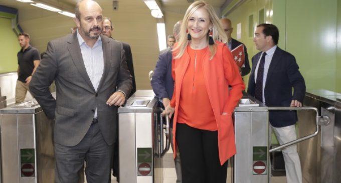 Cifuentes presenta las primeras estaciones de Metro remodeladas gracias al Plan de Modernización