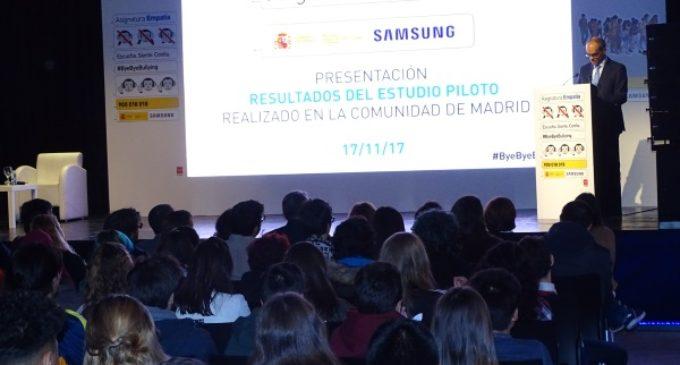 La Comunidad participa de forma pionera en un programa de realidad virtual para luchar contra el acoso escolar