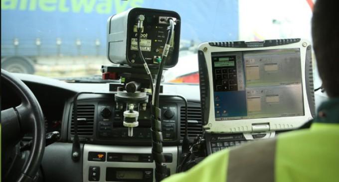 Un radar móvil para controlar la velocidad de los vehículos y aumentar la seguridad en Majadahonda