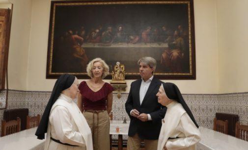 La Comunidad de Madrid concluye la restauración del retablo de Nuestra Señora de la Soledad, del siglo XVIII