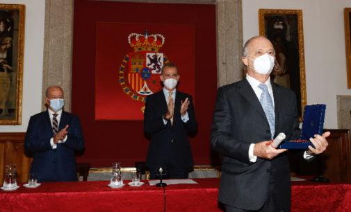 Entrega del Premio Órdenes Españolas 2021 al historiador mexicano Enrique Krauze