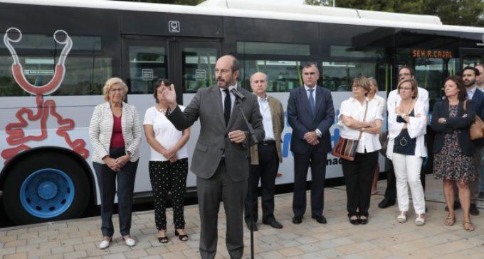 El Consorcio de Transportes pone en marcha el servicio especial entre Alsacia y el Ramón y Cajal
