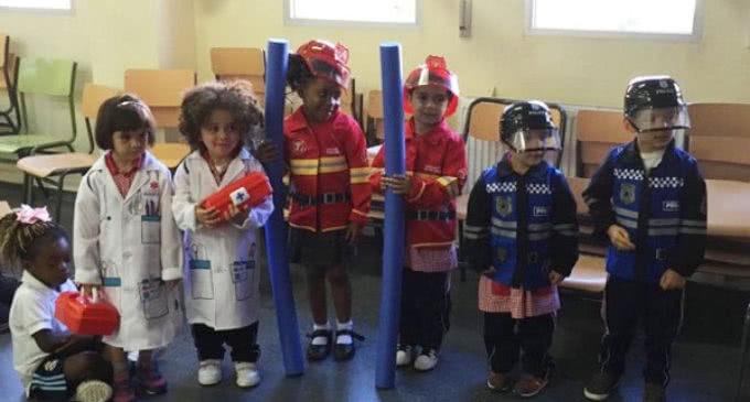 Más de 5.000 escolares se forman en emergencias con los talleres organizados por Madrid 112