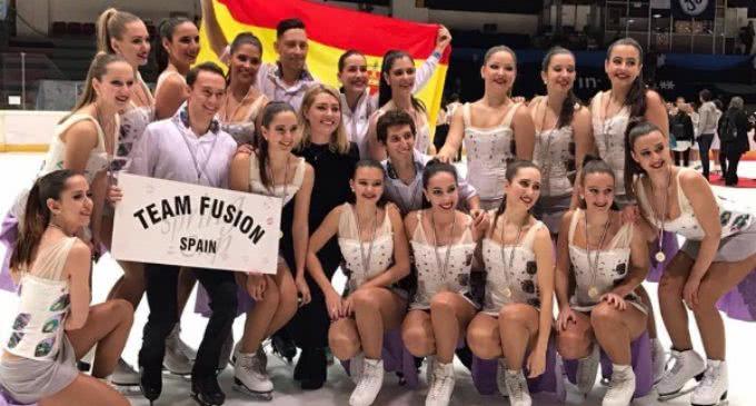 """Los equipos de patinaje sincronizado de """"La Nevera"""" representan a España en los Campeonatos del Mundo"""