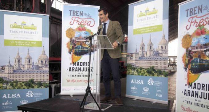 Chaguaceda asiste a la presentación de la nueva temporada del Tren de la Fresa
