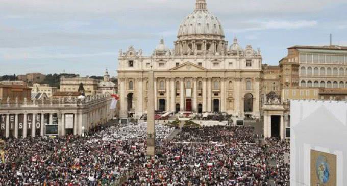 Oración por la paz en el Vaticano